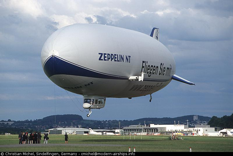 Modern Airships - Handing Over The Zeppelin To NAC