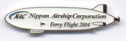 NAC Zeppelin Ferry Flight Pin